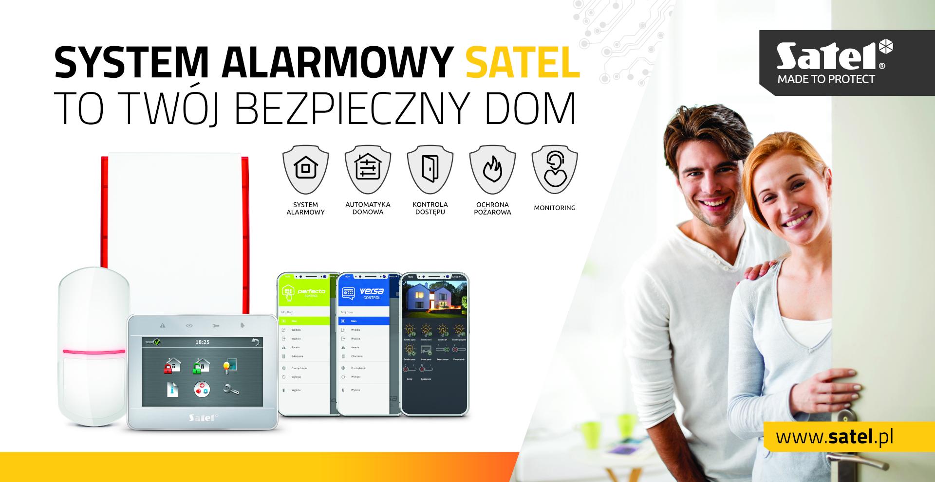 SATEL systemy alarmowe